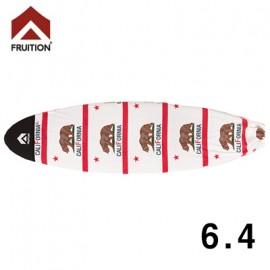 [FRUITION]SURFBOARD MICROCASE CALIFO 6.4