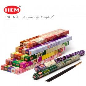 [HEM] 스퀘어 인센스 스틱 향 (8개입) 25종류