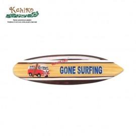 서핑 인테리어 소품 우드 사인보드 GONE SURFING
