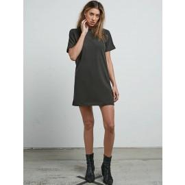 [VOLCOM] 볼컴 우먼스 박스티 BOYFRIEND ME DRESS(VINTAGE BLACK)