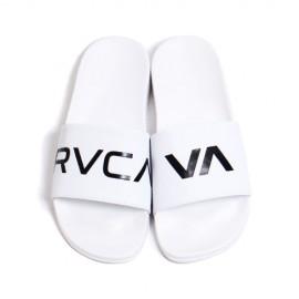 [RVCA] 남녀공용 SHOWER SANDAL 루카 슬리퍼 WHT