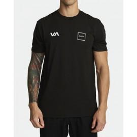 [RVCA] LANE SS BLK 루카 레인 티셔츠 블랙