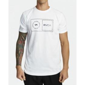 [RVCA] SPORT BALANCE BOX SS WHT 스포츠 밸런스 박스 티셔츠 화이트