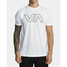 [RVCA] VA OFFSET SS WHT 루카 브이에이 오프셋 티셔츠 화이트