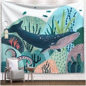 [태피스트리] 패브릭 포스터 DREAM WHALE I 고래의 꿈