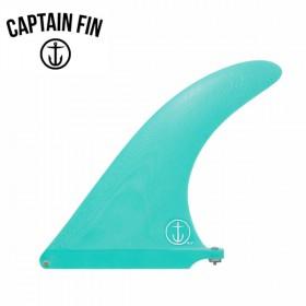 서핑롱보드핀 CAPTAIN FIN 9.5 RAKED FIN - TEAL