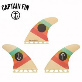 서핑보드 핀 퓨처핀 타입 S - CAPTAIN FIN - TEAM SERIES S/M