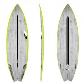 서핑 숏보드 5.10/6.2/6.6 ACT GO KART - GREEN