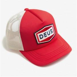 데우스 DEUS EX MACHINA 캡 모자 Speed Stix Trucker 레드 RED